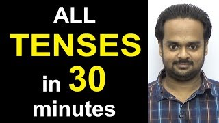 Download Learn ALL TENSES Easily in 30 Minutes - Present, Past, Future | Simple, Continuous, Perfect Video