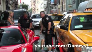 Download Ferrari 458 Spider Runs Over Cop Video