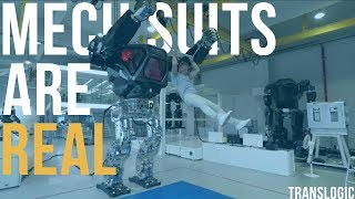 Download Driving An Actual Bipedal Mech Suit | Translogic 221 Video