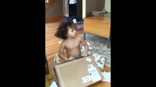 Download Little Boy Gets A Box Of Coal For Christmas Video