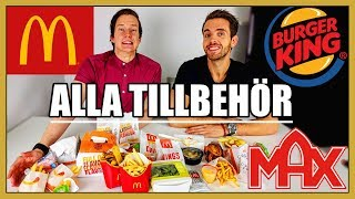 Download ALLA tillbehör från Max, McDonalds & Burger King Video