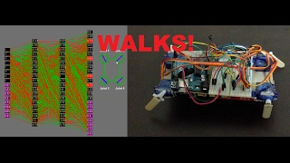Download Robot Learning To Walk With Neural Networks Video