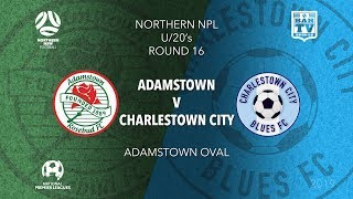 Download 2019 NPL Northern NSW u20s - Round 16 Catch up - Adamstown Rosebud v Charlestown City Blues Video