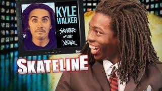 Download SKATELINE - Kyle Walker SOTY, Shane ONeill, Numbers, Koston, Guy, Frankie Decker & more Video