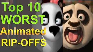 Download Top 10 Worst Animated Rip Offs Video