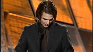 Download Rock of Ages Star Tom Cruise Wins Best Supporting Actor Motion Picture - Golden Globes 2000 Video