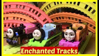 Download Thomas and Friends Accidents will Happen | Toy Trains Thomas the Tank | Glow in the Dark Track Video