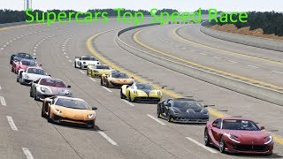 Download Supercars Top Speed Race at NARDO / Assetto Corsa Video