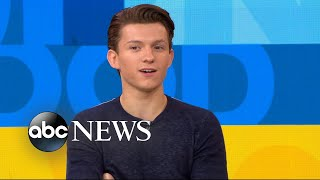 Download Tom Holland says he had 8 auditions for 'Spider-Man: Homecoming' Video