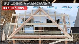 Download Building a Mancave 7: Framing a hipped porch Video