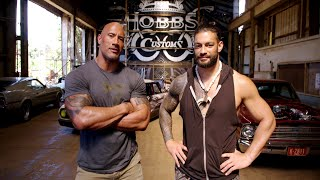 "Download The Rock and Roman Reigns talk about family and ""Hobbs & Shaw"" Video"