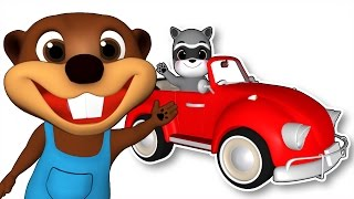 Download ″Red Car″ | Learn Colors for Children, Colours Song, Educational Video for Toddlers by Busy Beavers Video