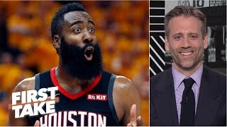 Download If James Harden doesn't choke, Rockets have chance to beat the Warriors - Max Kellerman | First Take Video
