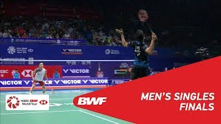 Download F | MS | Anthony Sinisuka GINTING (INA) vs Kento MOMOTA (JPN) [3] | BWF 2018 Video