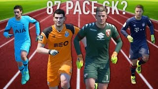 Download FASTEST GOALKEEPERS IN FIFA 17 !!! (Speed Test) Video