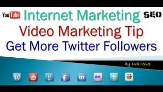 Download How to Get More Twitter Followers - Even a Caveman Can Do This Video