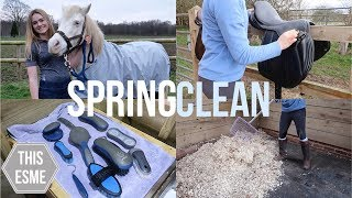 Download SPRING CLEAN | Tackroom, Grooming Brushes and more! | This Esme Video