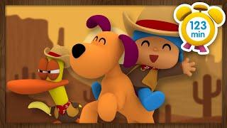 Download 💰POCOYÓ en ESPAÑOL - Películas del Oeste [ 123 minutos ] | CARICATURAS y DIBUJOS ANIMADOS para niños Video