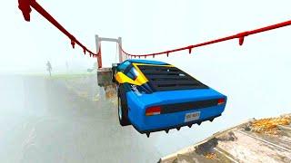Download Epic Crashes & Destruction ★BeamNG drive★ Crazy Jumps Police Chases Crash Test Cars / Drive2Live Video