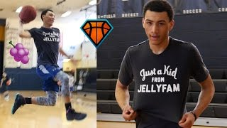 Download JellyFam's Jahvon Quinerly Puts In WORK During a 1on1 & Jelly Session!! | Next Star PG Out of Jersey Video