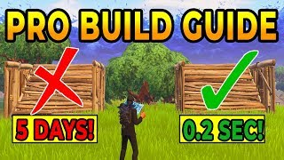 Download How to BUILD LIKE A PRO In Fortnite Battle Royale (Best Secret Win Tips)) Video