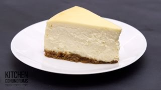 Download The Method Behind a Crack-Free Cheesecake - Kitchen Conundrums with Thomas Joseph Video