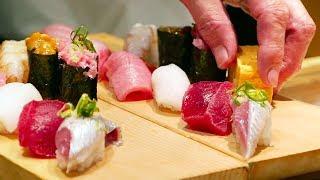 Download Japanese Street Food - TSUKIJI MARKET SUSHI SASHIMI Japan Seafood Video