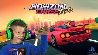 Download #toys4kids #gaming Ο Μάριος παίζει Horizon Chase Turbo PS4 Greek Gameplay Video