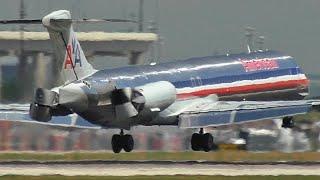 Download MD80 Reverses Thrust in the air! Video