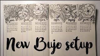 Download NEW BuJo SetUp for 2018 // PLAN WITH ME Video