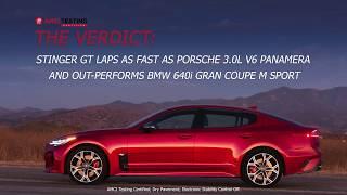 Download Stinger GT vs Porsche Panamera vs BMW 640i AMCI Test   Kia Video