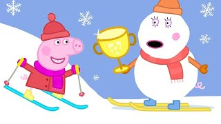 Download Best of Peppa Pig - Sun, Sea and Snow - Cartoons for Children Video