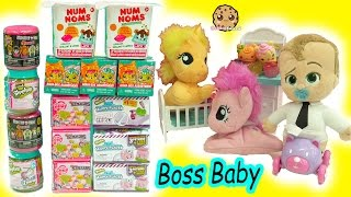 Download The Boss Baby + My Little Pony Babies - Shopkins, MLP Stack'Ems Surprise Blind Bags Video