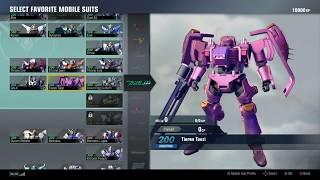 Download Gundam Versus Roster Overview Video