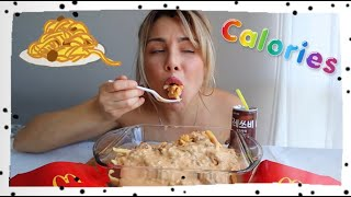 Download counting calories for mukbangers Video