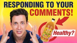 Download Apple Cider Vinegar Benefits? | Responding to Your Comments | Doctor Mike Video