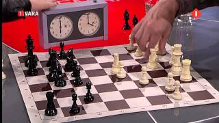 Download Magnus Carlsen playing a one minute game against Hans Bohm Video