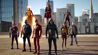 Download Supergirl/The Flash/Arrow/Legends of Tomorrow ″Invasion!″ Crossover Recap Video