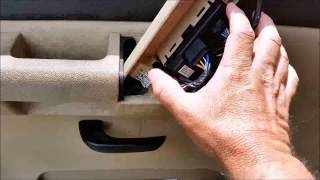 Download Replacing master window switches on a 2007-2014 GMC/Chevrolet 1500 pickup Video