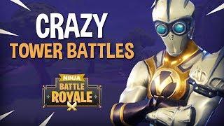 Download Crazy Tower Battles!! - Fortnite Battle Royale Gameplay - Ninja Video