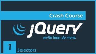 Download jQuery Crash Course [1] - Intro & Selectors Video