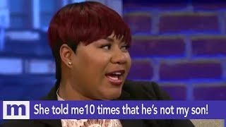 Download She told me TEN times he's not my son! | The Maury Show Video