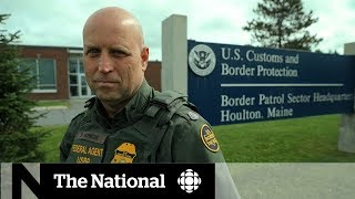 Download Asylum seekers crossing back to the U.S. illegally Video
