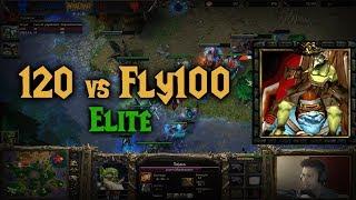Download Warcraft 3 | 120 vs Fly100% | ELITE | UvO Video