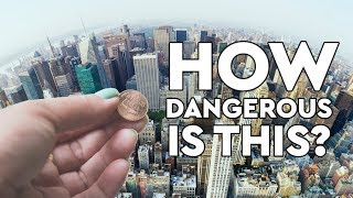 Download What Happens When You Drop A Penny Off The Empire State Building? DEBUNKED Video