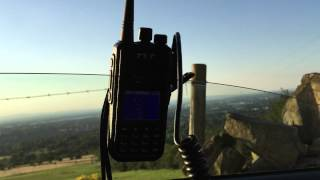 Download 14 Mile Test QSO - Wouxun 4m, TYT MD-380 & Baofeng UV-82 UHF Video