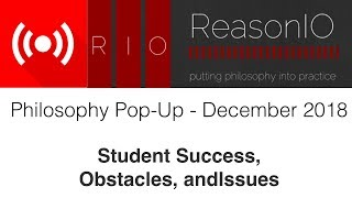 Download Philosophy Pop-Up Session - Student Success, Obstacles, and Issues Video