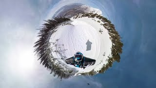 Download GoPro OverCapture: POV Proximity Wingsuit with Marshall Miller Video