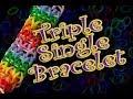 Download How to Make a Triple Single Rainbow Loom Bracelet HD Video