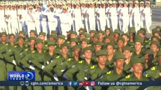 Download Military parade in Havana celebrates Cuban revolution Video